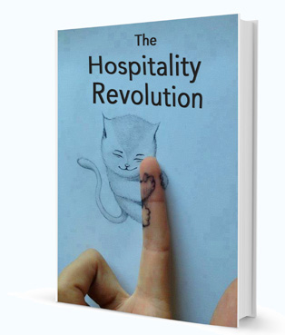 Book cover: The Hospitality Revolution